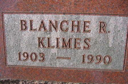 KLIMES, BLANCHE R. - Linn County, Iowa   BLANCHE R. KLIMES