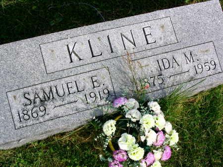 KLINE, SAMUEL E. - Linn County, Iowa | SAMUEL E. KLINE