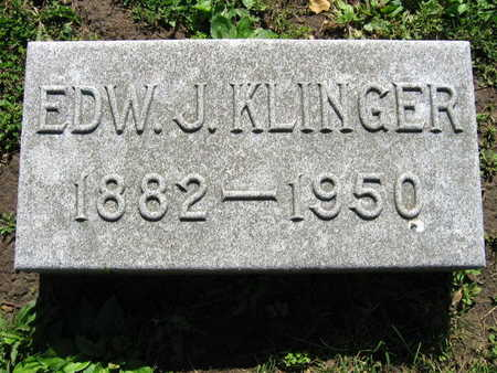 KLINGER, EDW. J. - Linn County, Iowa | EDW. J. KLINGER