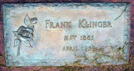 KLINGER, FRANK - Linn County, Iowa | FRANK KLINGER