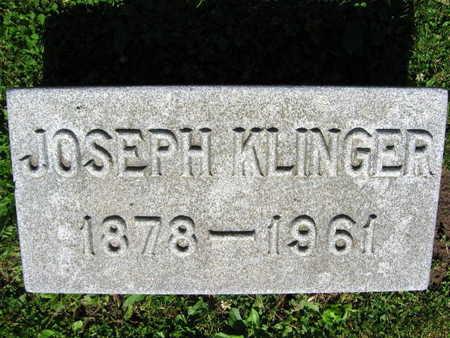 KLINGER, JOSEPH - Linn County, Iowa | JOSEPH KLINGER