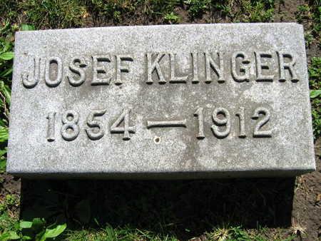 KLINGER, JOSEF - Linn County, Iowa | JOSEF KLINGER
