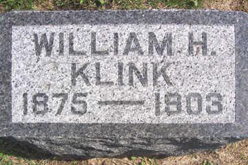 KLINK, WILLIAM H. - Linn County, Iowa   WILLIAM H. KLINK