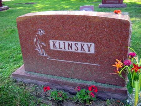 KLINSKY, FAMILY STONE - Linn County, Iowa | FAMILY STONE KLINSKY