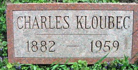 KLOUBEC, CHARLES - Linn County, Iowa | CHARLES KLOUBEC