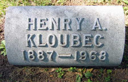 KLOUBEC, HENRY A. - Linn County, Iowa   HENRY A. KLOUBEC