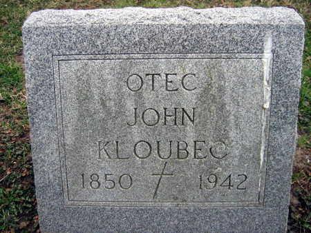 KLOUBEC, JOHN - Linn County, Iowa | JOHN KLOUBEC