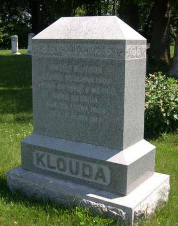 KLOUDA, ANNA - Linn County, Iowa | ANNA KLOUDA