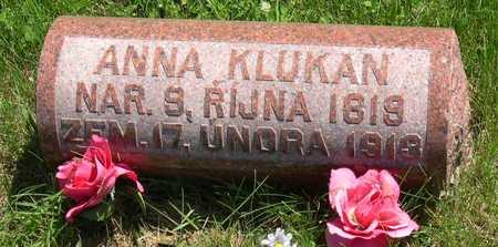 KLUKAN, ANNA - Linn County, Iowa | ANNA KLUKAN