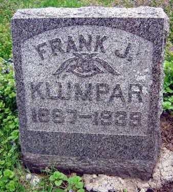 KLUMPAR, FRANK J. - Linn County, Iowa   FRANK J. KLUMPAR