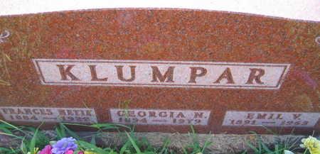 KLUMPAR, GEORGIA N. - Linn County, Iowa | GEORGIA N. KLUMPAR