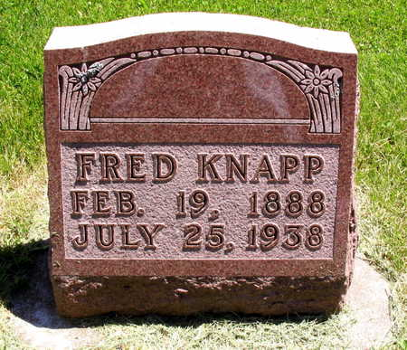 KNAPP, FRED - Linn County, Iowa | FRED KNAPP