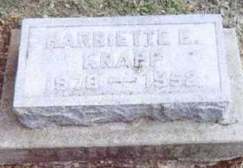 KNAPP, HARRIETTE E. - Linn County, Iowa | HARRIETTE E. KNAPP
