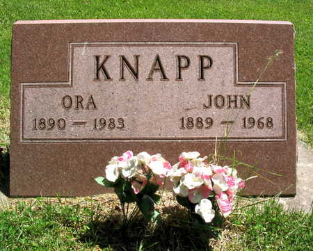 KNAPP, ORA - Linn County, Iowa | ORA KNAPP