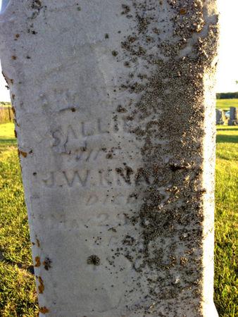 PHILLIPS KNAPP, SALLIE - Linn County, Iowa | SALLIE PHILLIPS KNAPP