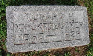 KNICKERBOCKER, EDWARD H. - Linn County, Iowa | EDWARD H. KNICKERBOCKER