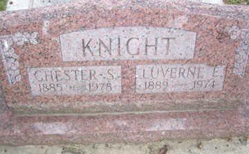 KNIGHT, LUVERNE E. - Linn County, Iowa | LUVERNE E. KNIGHT