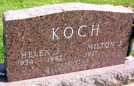 KOCH, HELEN J. - Linn County, Iowa | HELEN J. KOCH
