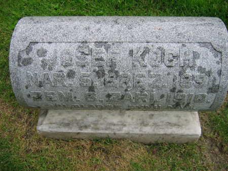 KOCH, JOSEF - Linn County, Iowa | JOSEF KOCH