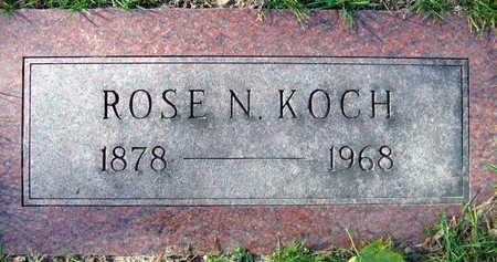 KOCH, ROSE N. - Linn County, Iowa | ROSE N. KOCH