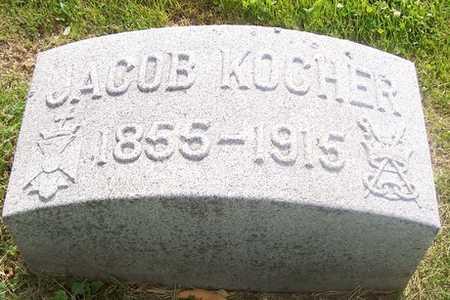 KOCHER, JACOB - Linn County, Iowa | JACOB KOCHER