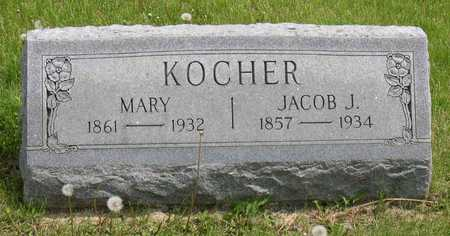 KOCHER, MARY - Linn County, Iowa | MARY KOCHER