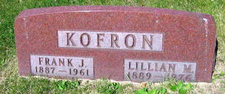 KOFRON, LILLIAN M. - Linn County, Iowa | LILLIAN M. KOFRON