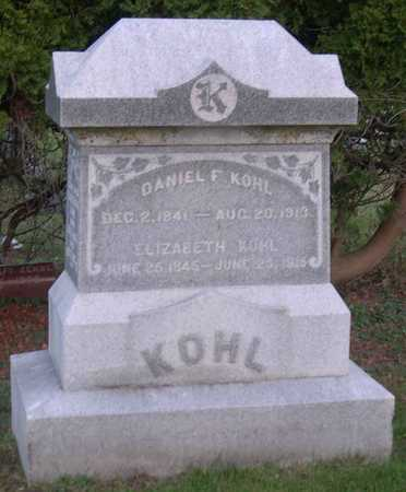 KOHL, DANIEL F. - Linn County, Iowa | DANIEL F. KOHL