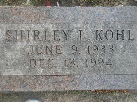 KOHL, SHIRLEY L. - Linn County, Iowa | SHIRLEY L. KOHL