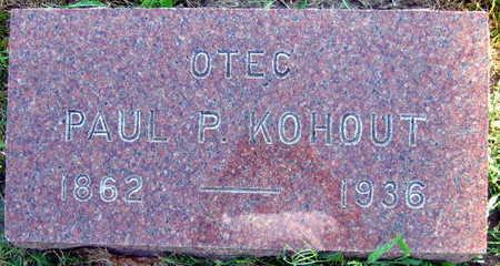 KOHOUT, PAUL P. - Linn County, Iowa | PAUL P. KOHOUT