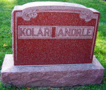 KOLAR ANDRLE, FAMILY STONE - Linn County, Iowa | FAMILY STONE KOLAR ANDRLE