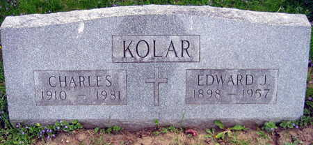 KOLAR, EDWARD J. - Linn County, Iowa | EDWARD J. KOLAR
