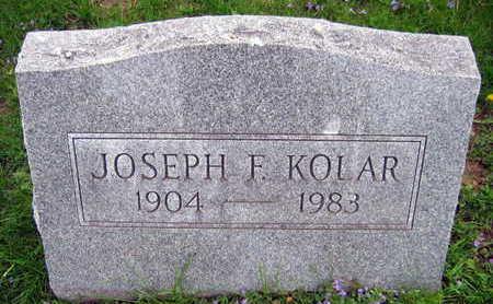KOLAR, JOSEPH F. - Linn County, Iowa | JOSEPH F. KOLAR