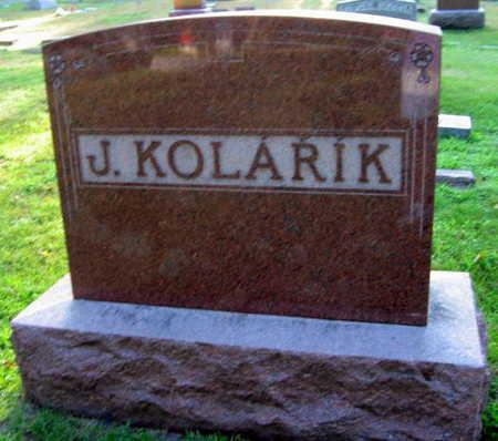KOLARIK, FAMILY STONE   (J. KOLARIK) - Linn County, Iowa | FAMILY STONE   (J. KOLARIK) KOLARIK