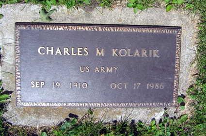 KOLARIK, CHARLES M. - Linn County, Iowa | CHARLES M. KOLARIK