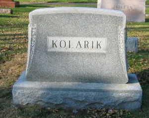 KOLARIK, FAMILY STONE - Linn County, Iowa | FAMILY STONE KOLARIK