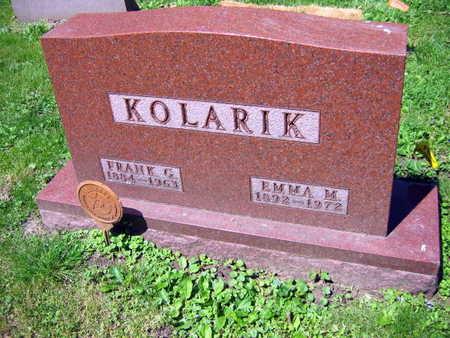 KOLARIK, FRANK - Linn County, Iowa | FRANK KOLARIK