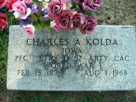 KOLDA, CHARLES A. - Linn County, Iowa | CHARLES A. KOLDA