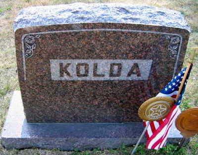 KOLDA, FAMILY STONE - Linn County, Iowa | FAMILY STONE KOLDA
