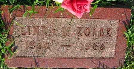 KOLEK, LINDA M. - Linn County, Iowa | LINDA M. KOLEK