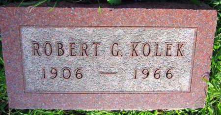 KOLEK, ROBERT G. - Linn County, Iowa | ROBERT G. KOLEK