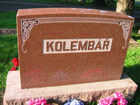 KOLEMBAR, FAMILY STONE - Linn County, Iowa   FAMILY STONE KOLEMBAR