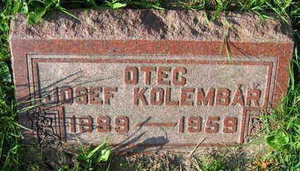 KOLEMBAR, JOSEF - Linn County, Iowa   JOSEF KOLEMBAR