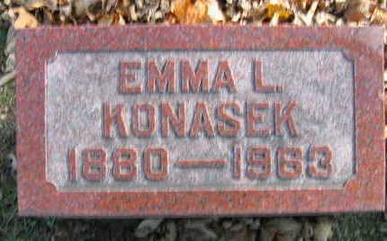 KONASEK, EMMA L - Linn County, Iowa | EMMA L KONASEK