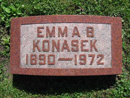 KONASEK, EMMA B. - Linn County, Iowa | EMMA B. KONASEK