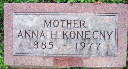 KONECNY, ANNA H. - Linn County, Iowa | ANNA H. KONECNY