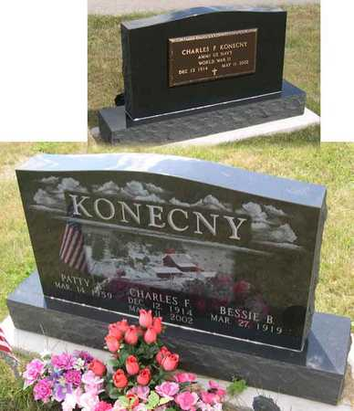 KONECNY, CHARLES F. - Linn County, Iowa   CHARLES F. KONECNY