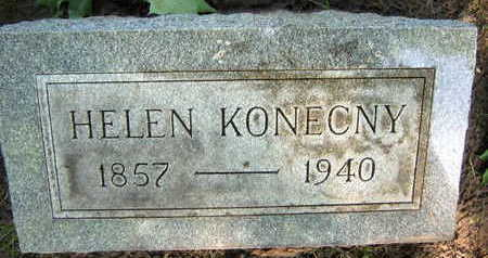 KONECNY, HELEN - Linn County, Iowa | HELEN KONECNY