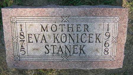 KONICEK STANEK, EVA - Linn County, Iowa   EVA KONICEK STANEK