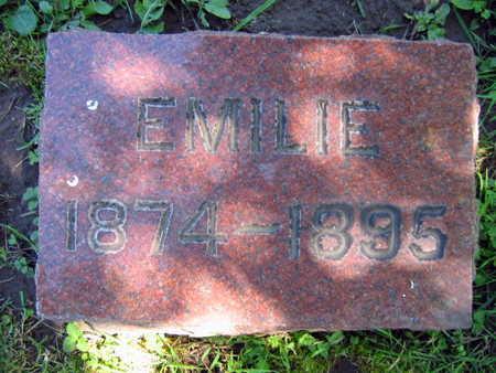 KONIGSMARK, EMILIE - Linn County, Iowa | EMILIE KONIGSMARK